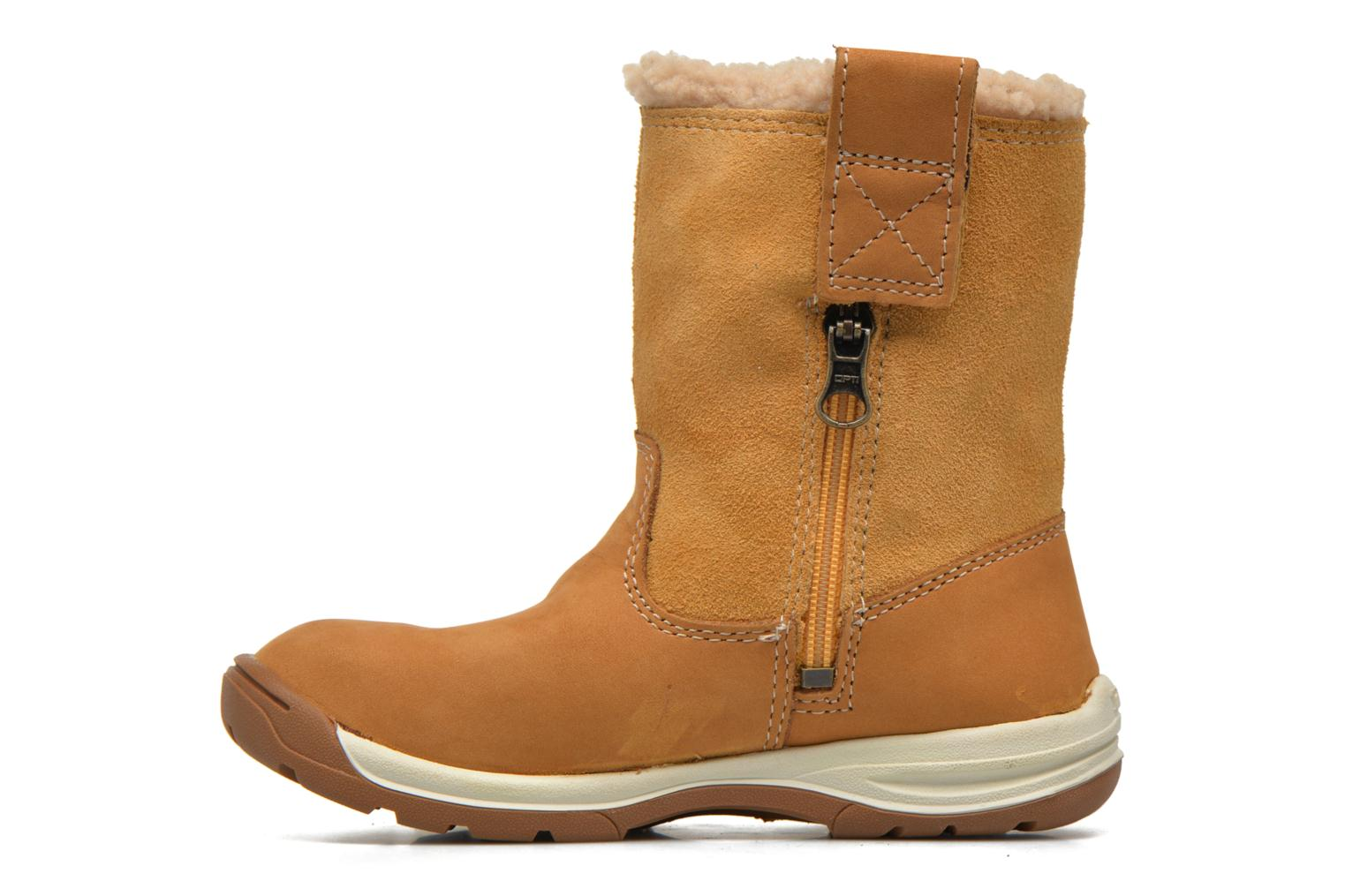 Ankle boots Timberland TTYKES EKPULLONBT Brown front view