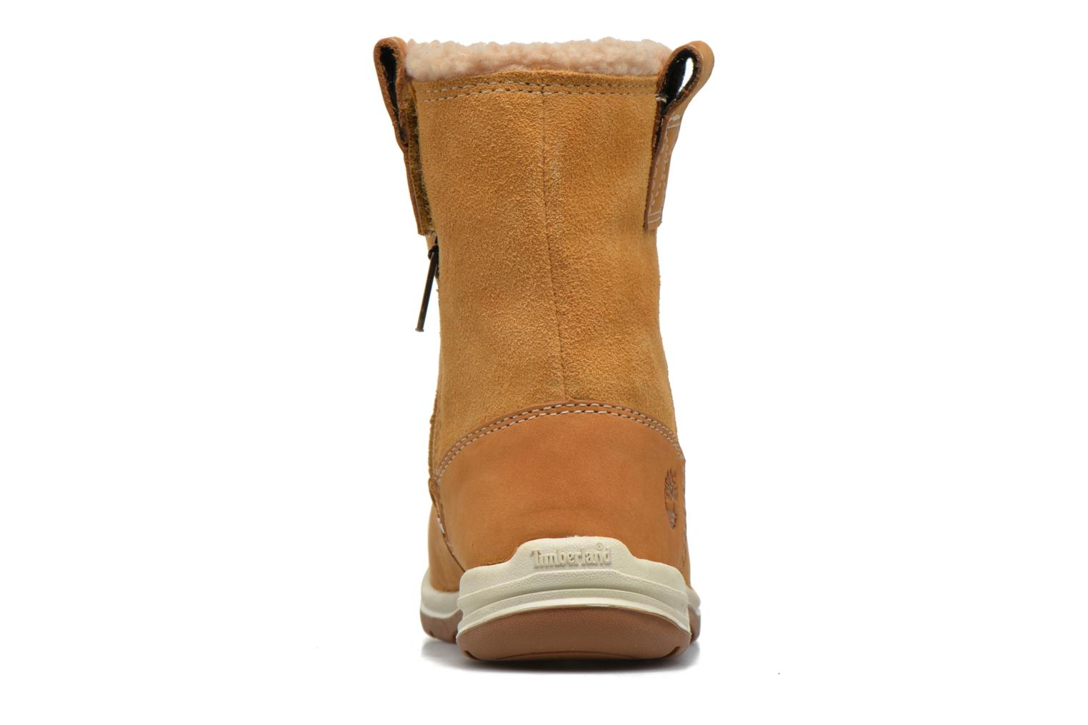 Ankle boots Timberland TTYKES EKPULLONBT Brown view from the right