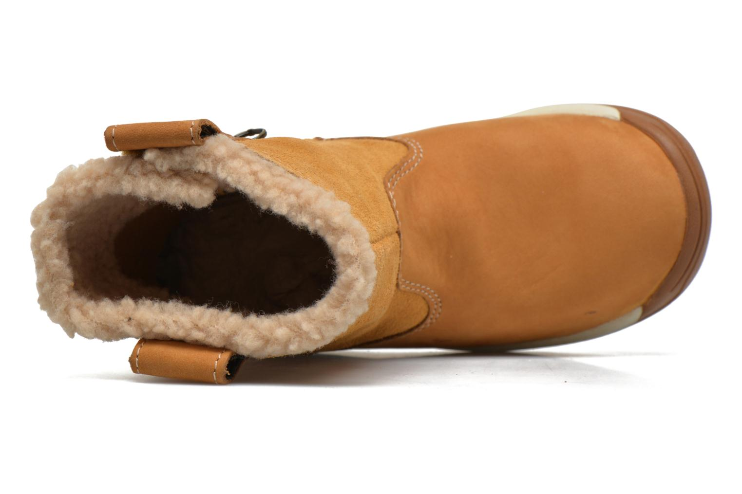 Ankle boots Timberland TTYKES EKPULLONBT Brown view from the left