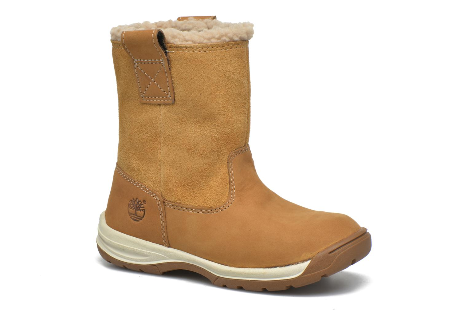 Ankle boots Timberland TTYKES EKPULLONBT Brown detailed view/ Pair view