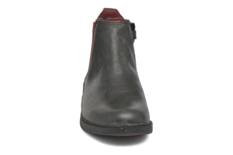 Bottines et boots Timberland Groveton Chelsea Noir vue portées chaussures