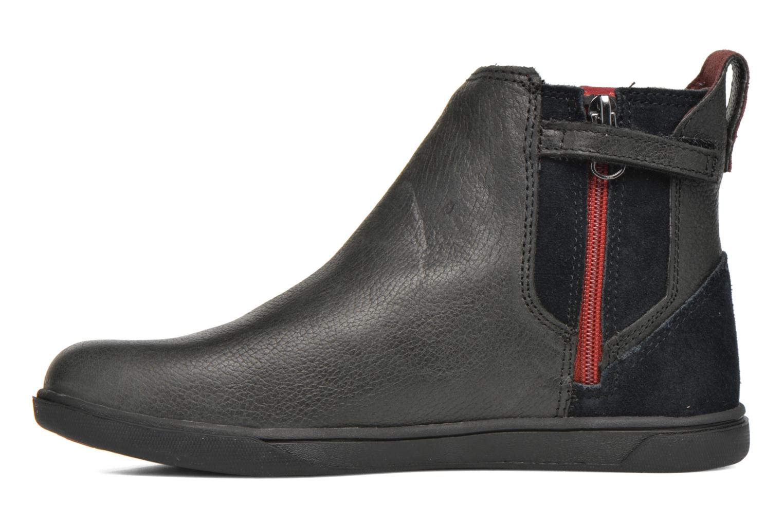 Bottines et boots Timberland Groveton Chelsea Noir vue face