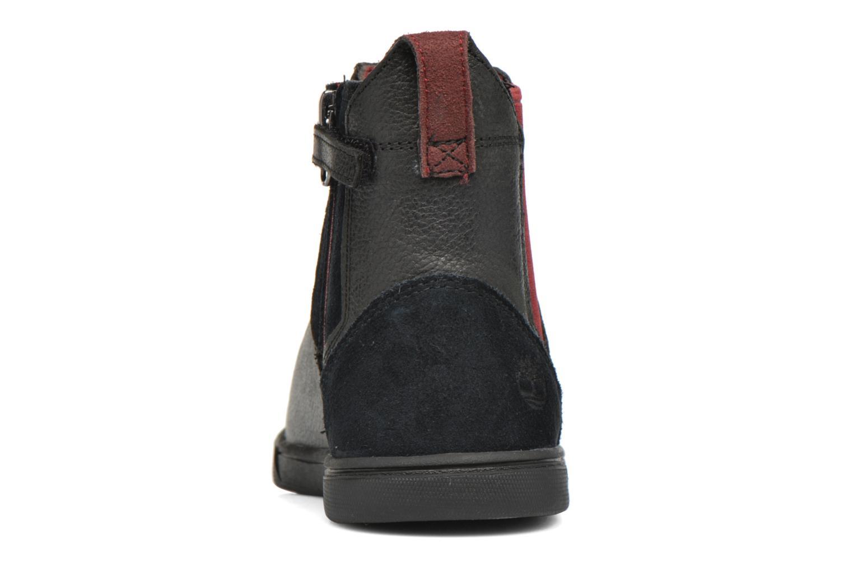 Bottines et boots Timberland Groveton Chelsea Noir vue droite