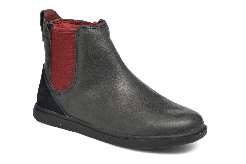 Bottines et boots Timberland Groveton Chelsea Noir vue détail/paire
