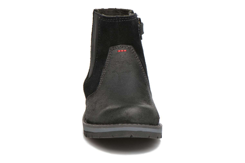 Bottines et boots Timberland Kidder Hill Wedge Ch Noir vue portées chaussures
