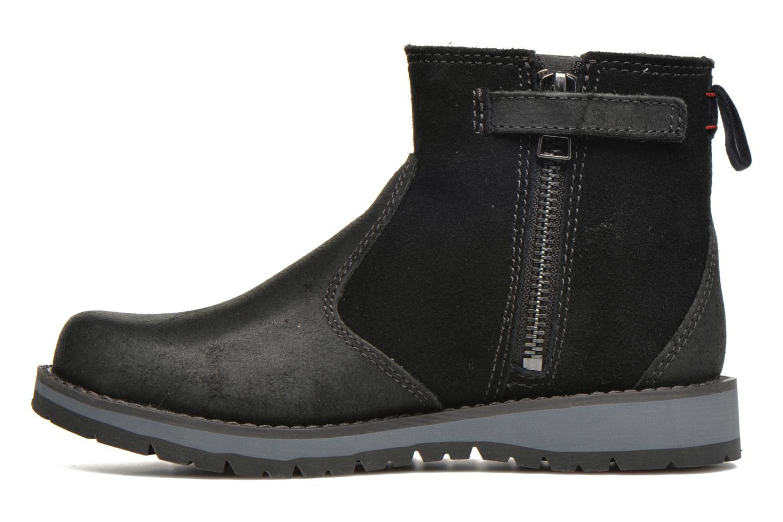 Bottines et boots Timberland Kidder Hill Wedge Ch Noir vue face