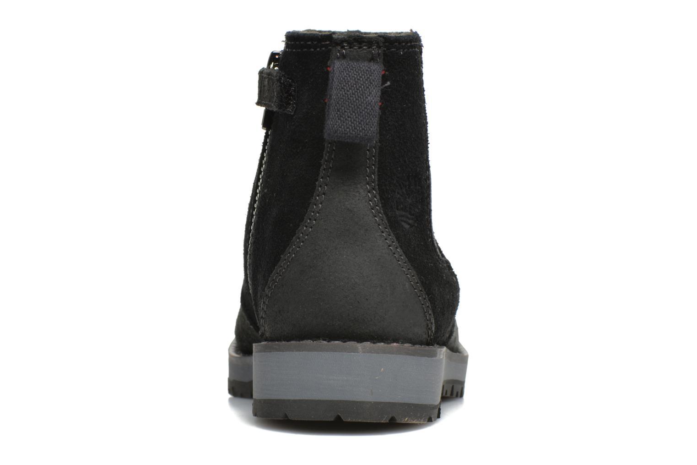 Bottines et boots Timberland Kidder Hill Wedge Ch Noir vue droite