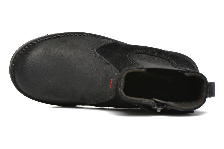 Bottines et boots Timberland Kidder Hill Wedge Ch Noir vue gauche