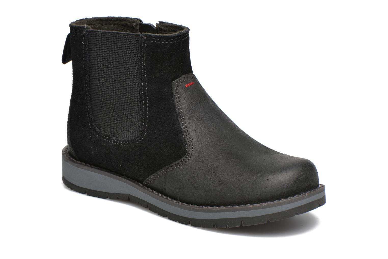 Bottines et boots Timberland Kidder Hill Wedge Ch Noir vue détail/paire