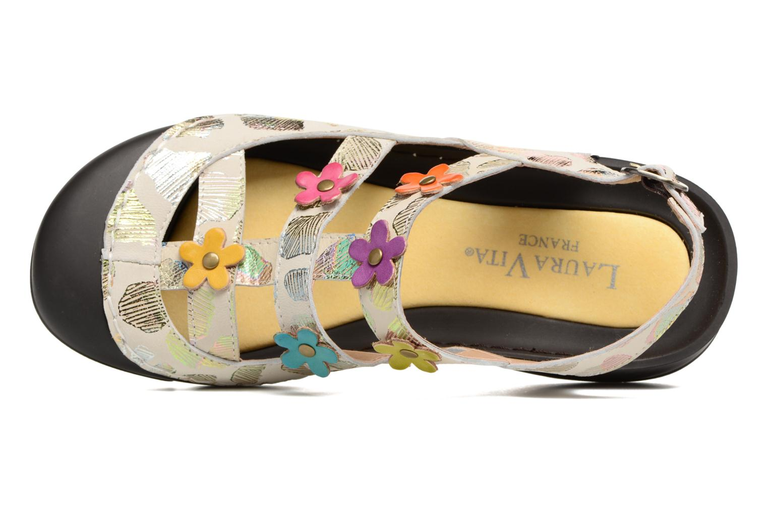 Mules & clogs Laura Vita Beziers 11 Multicolor view from the left