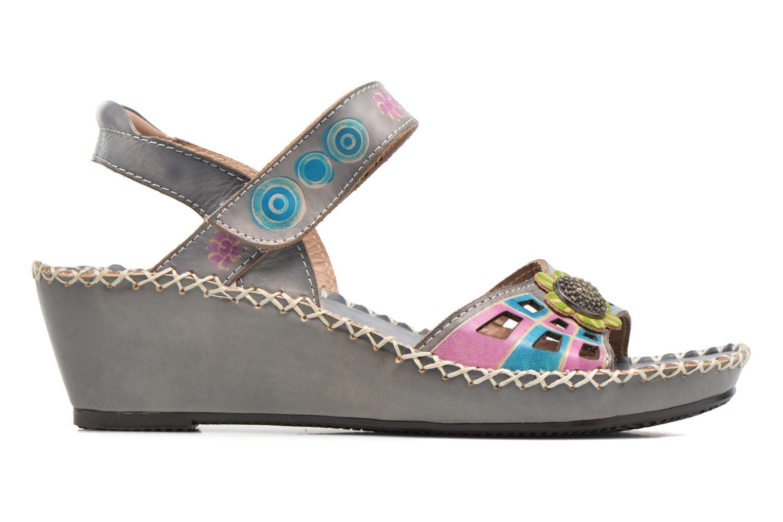 Sandales et nu-pieds Laura Vita Betsy 38 Multicolore vue derrière