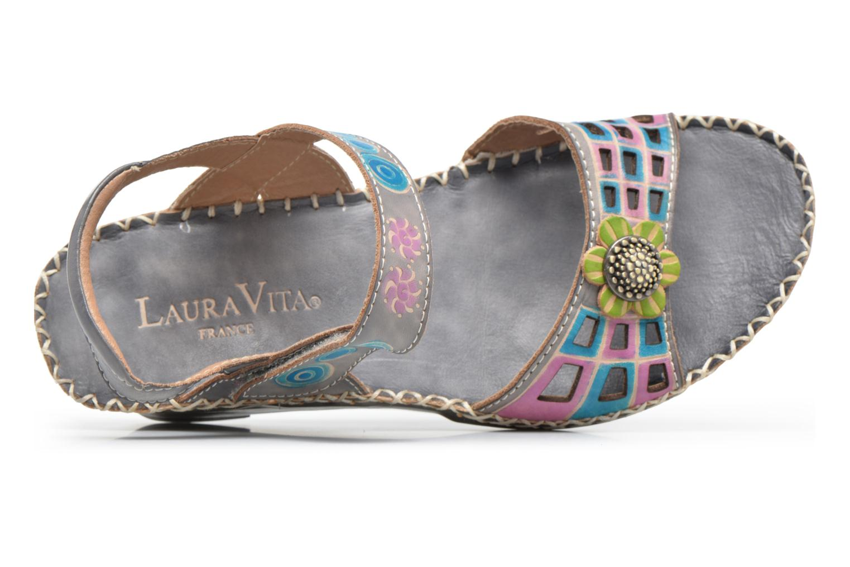 Sandales et nu-pieds Laura Vita Betsy 38 Multicolore vue gauche