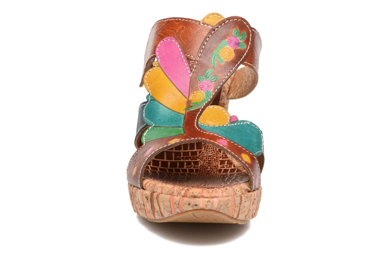 Mules et sabots Laura Vita Bali 03 Multicolore vue portées chaussures