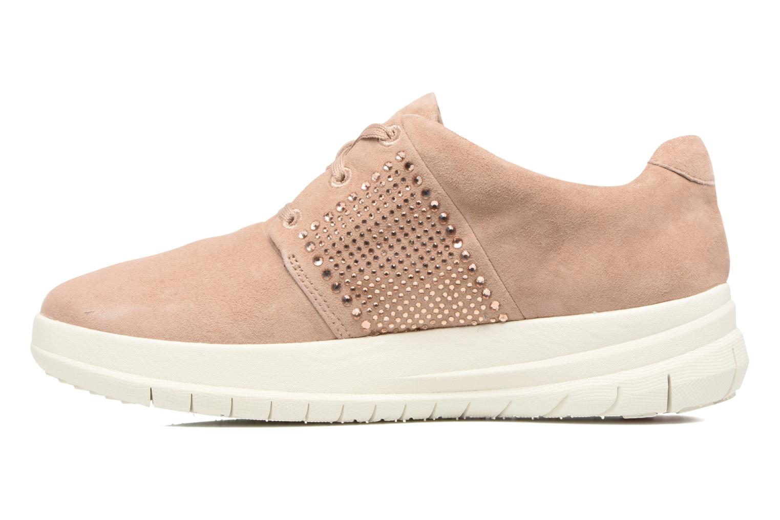 Trainers FitFlop Sporty-Pop X CRYSTAL Sneaker Pink front view