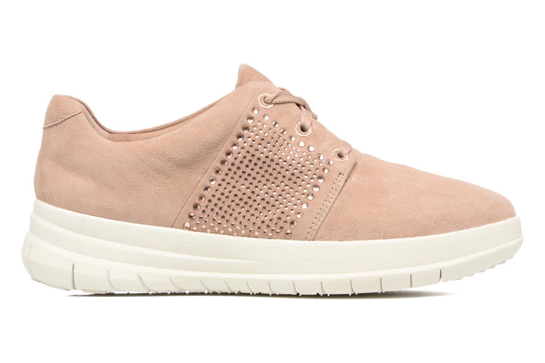 Baskets FitFlop Sporty-Pop X CRYSTAL Sneaker Rose vue derrière