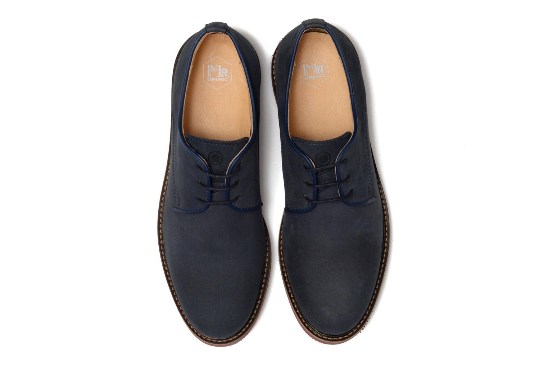 Chaussures à lacets Mr SARENZA Steyr Bleu vue portées chaussures