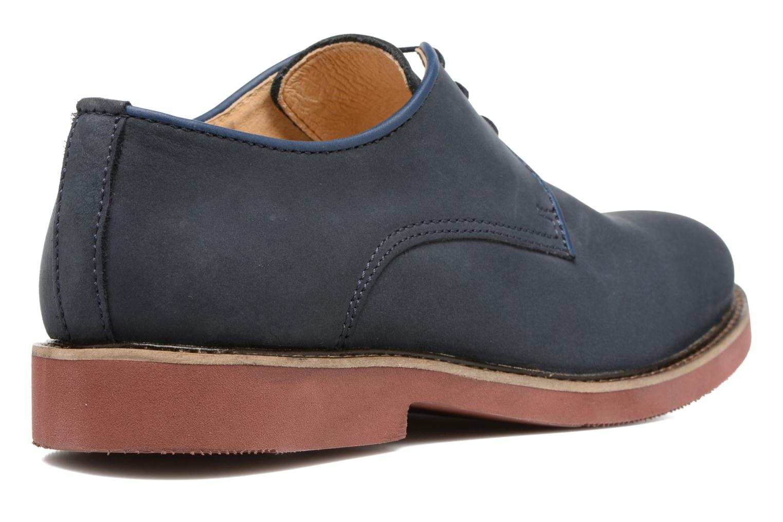 Chaussures à lacets Mr SARENZA Steyr Bleu vue face