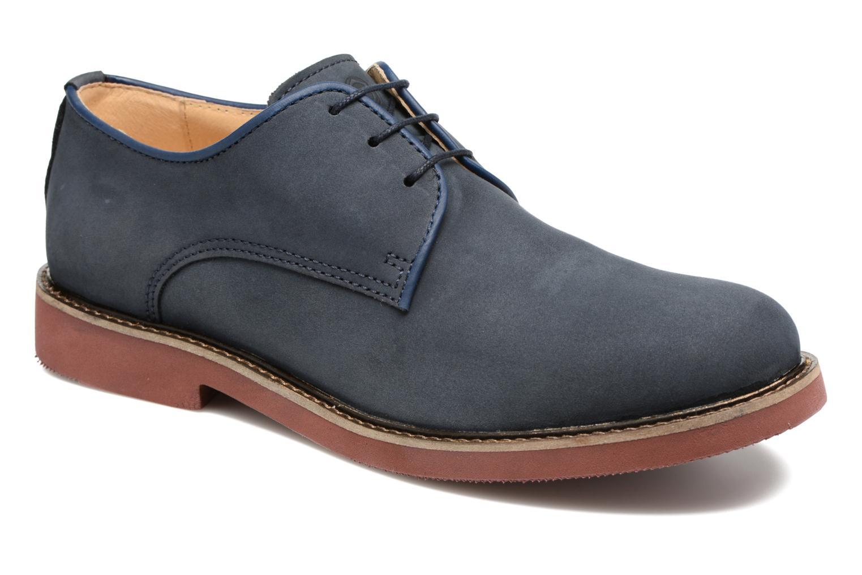 Chaussures à lacets Mr SARENZA Steyr Bleu vue droite