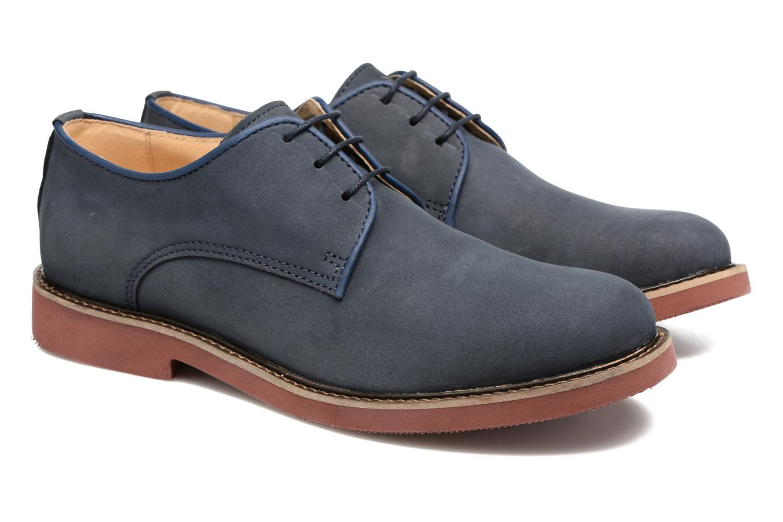 Chaussures à lacets Mr SARENZA Steyr Bleu vue derrière
