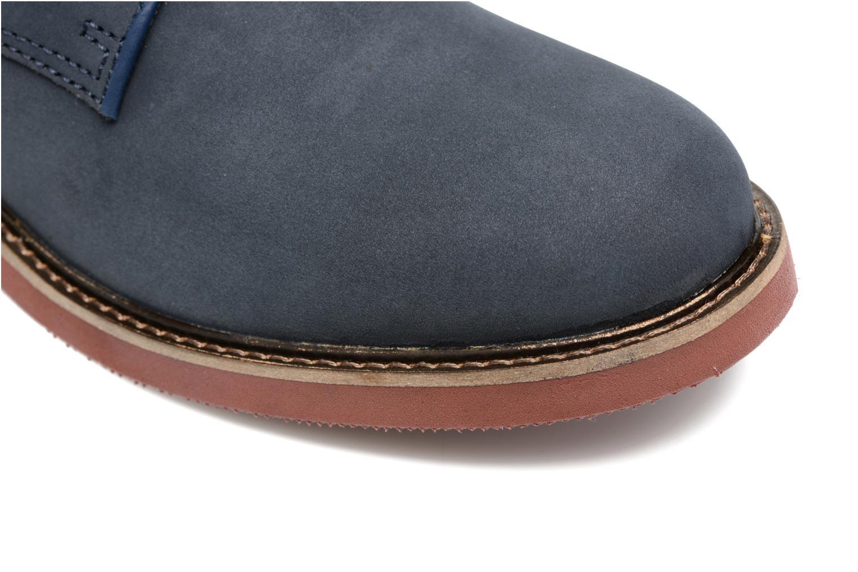 Chaussures à lacets Mr SARENZA Steyr Bleu vue gauche