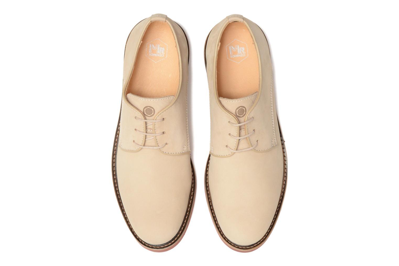 Chaussures à lacets Mr SARENZA Steyr Beige vue portées chaussures
