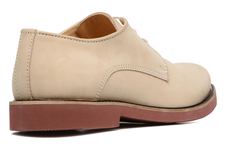 Chaussures à lacets Mr SARENZA Steyr Beige vue face
