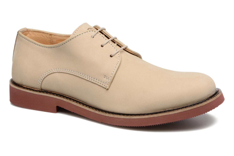 Chaussures à lacets Mr SARENZA Steyr Beige vue droite