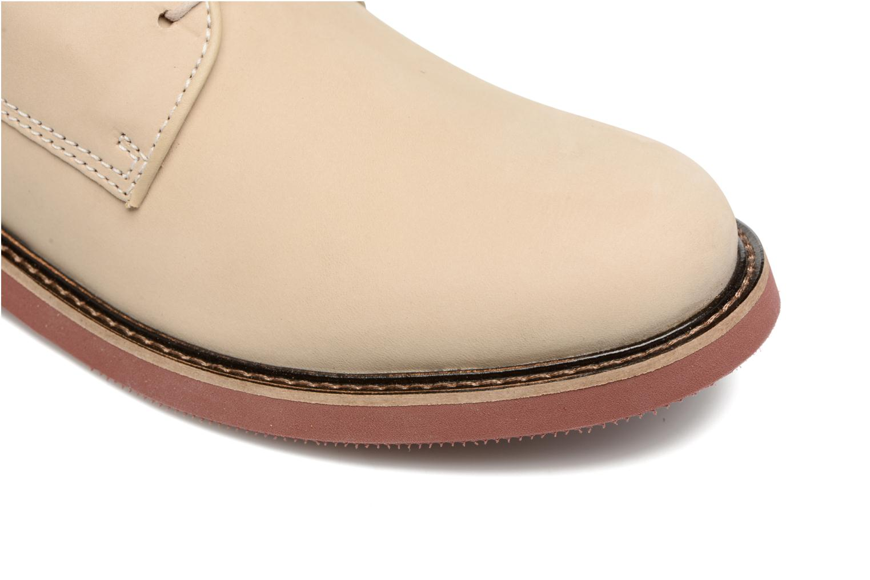 Chaussures à lacets Mr SARENZA Steyr Beige vue gauche