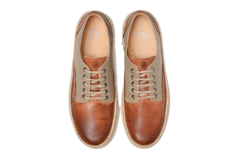Baskets Mr SARENZA Setubal Marron vue portées chaussures
