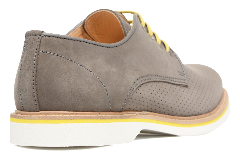 Chaussures à lacets Mr SARENZA Sandoring Gris vue face