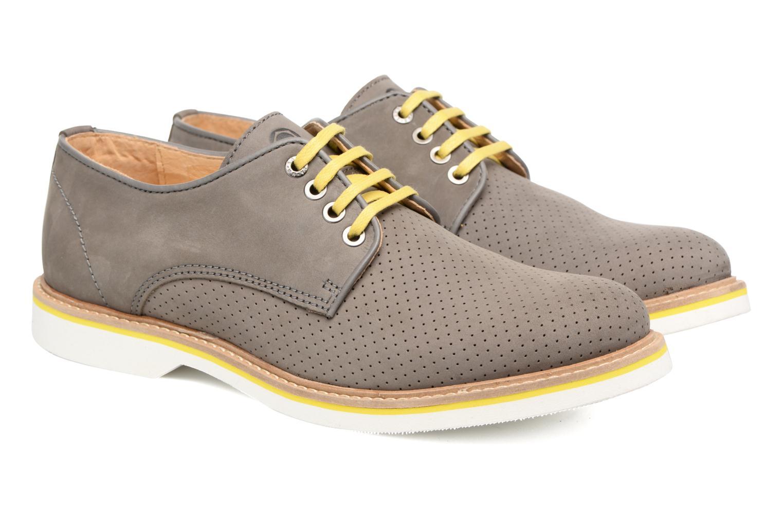 Chaussures à lacets Mr SARENZA Sandoring Gris vue derrière