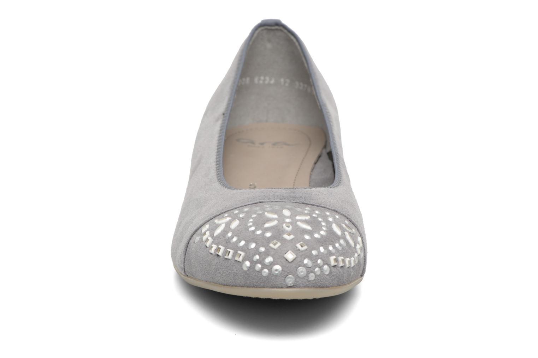 Ballerines Ara Bari 33780 Gris vue portées chaussures