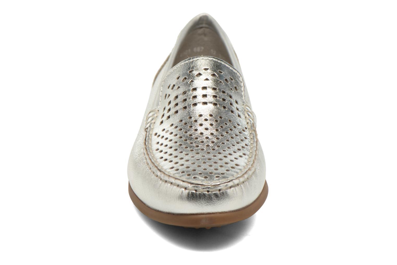 Mocassins Ara Boston 30708 Blanc vue portées chaussures