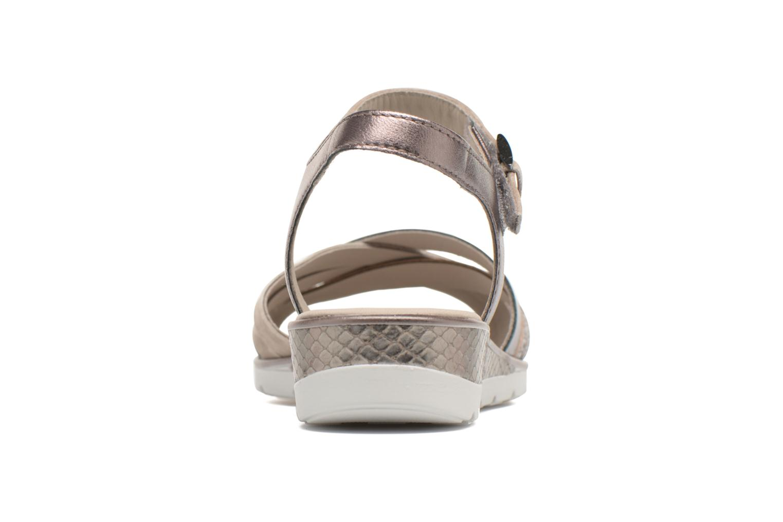 Sandalen Ara Alassio 33530 Grijs rechts