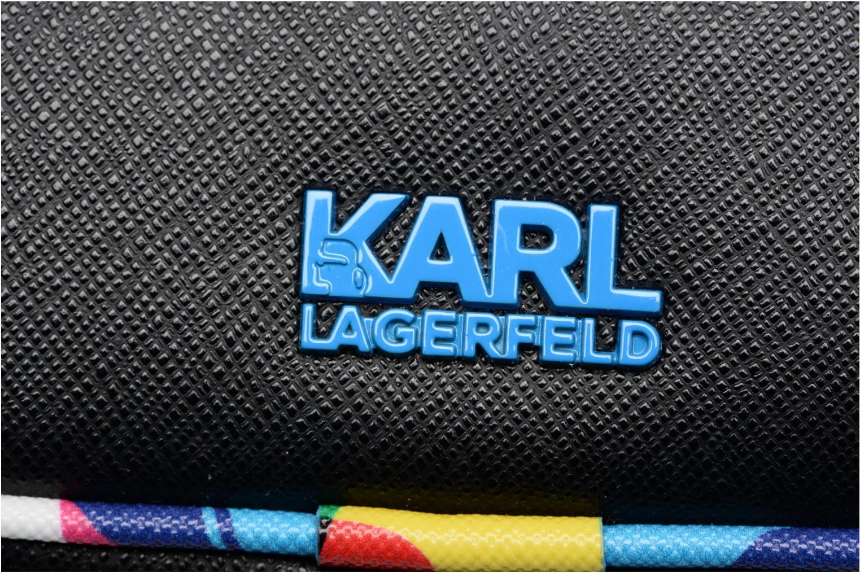Sacs à main Karl Lagerfeld SW KARL CROSSBODY Noir vue gauche