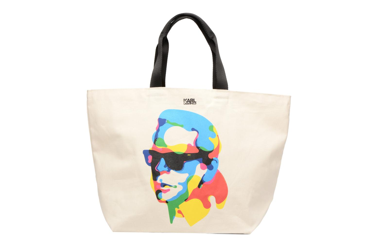 Sacs à main Karl Lagerfeld SW KARL CANVAS SHOPPER Blanc vue détail/paire