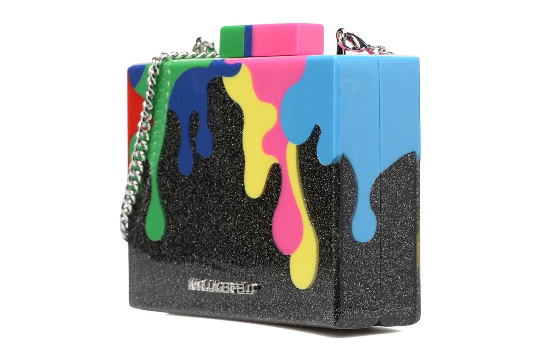 Sacs pochettes Karl Lagerfeld COLOR MINAUDIERE Multicolore vue portées chaussures
