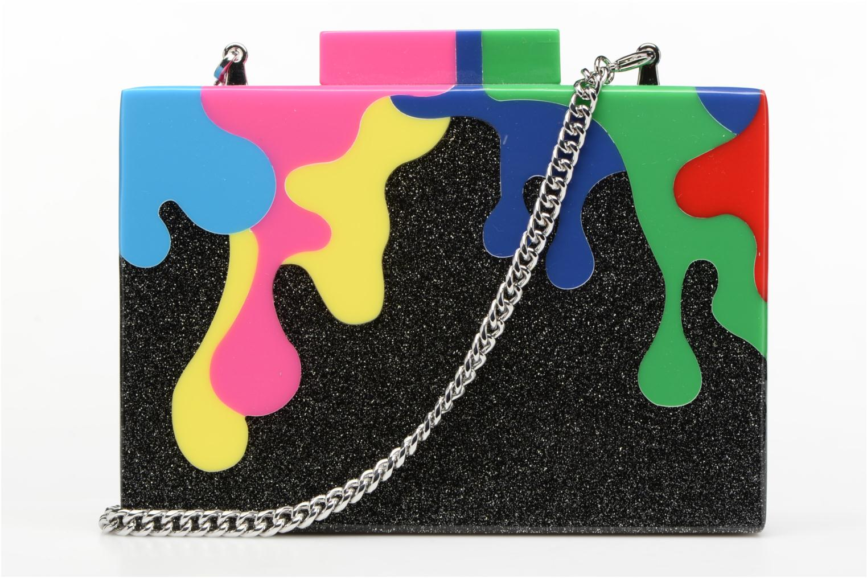 Sacs pochettes Karl Lagerfeld COLOR MINAUDIERE Multicolore vue face
