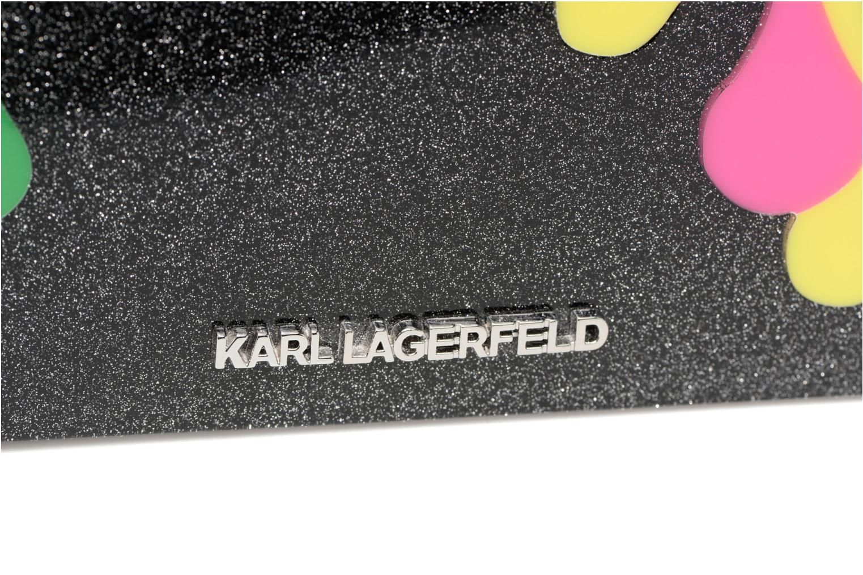 Sacs pochettes Karl Lagerfeld COLOR MINAUDIERE Multicolore vue gauche