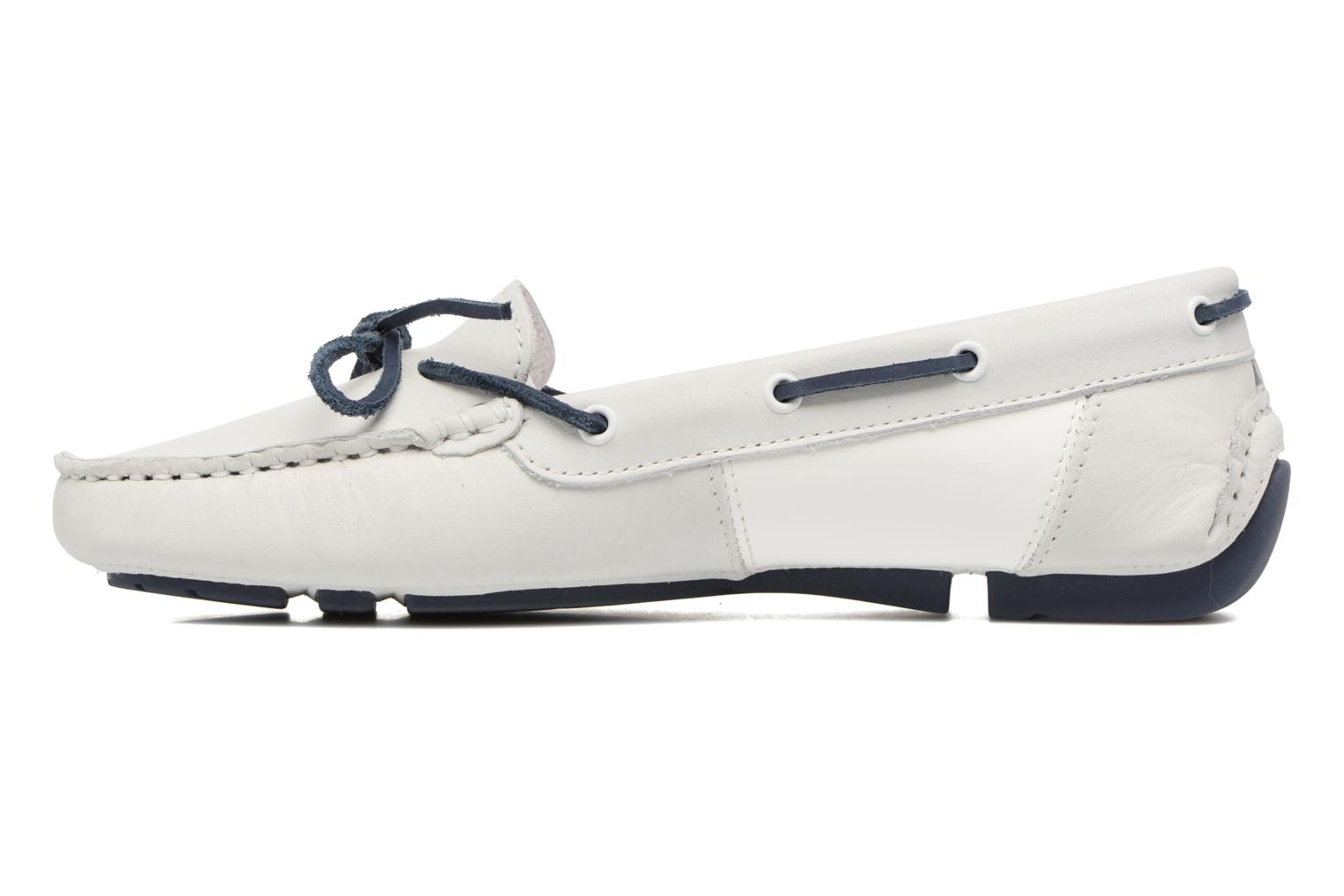 Chaussures à lacets TBS Bettsy Blanc vue face