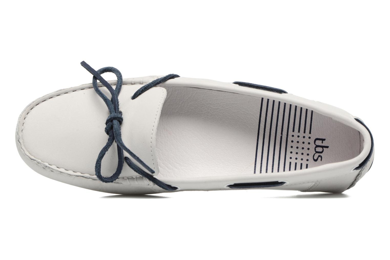 Chaussures à lacets TBS Bettsy Blanc vue gauche