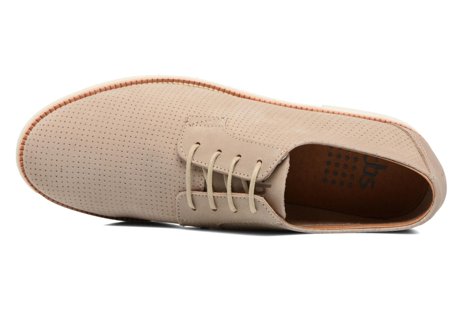 Lace-up shoes TBS Farrah 2 Beige view from the left