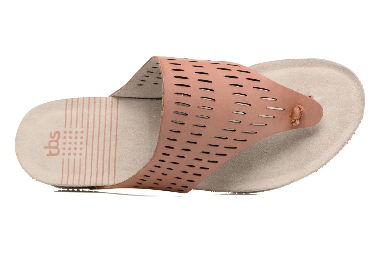 Slippers TBS Klariss Bruin links