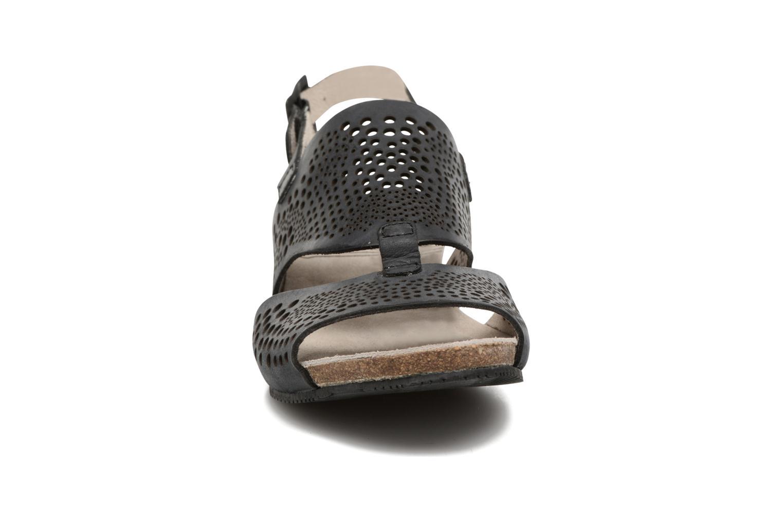 Sandales et nu-pieds TBS Koralie Noir vue portées chaussures