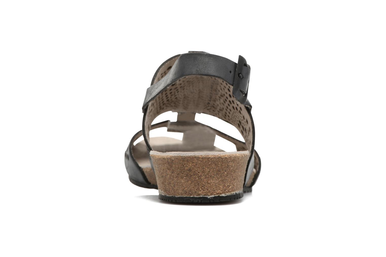 Sandales et nu-pieds TBS Koralie Noir vue droite