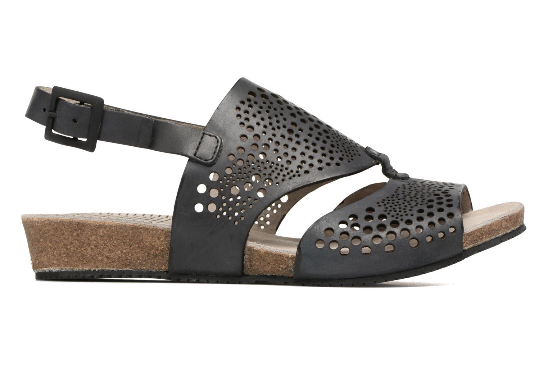 Sandales et nu-pieds TBS Koralie Noir vue derrière