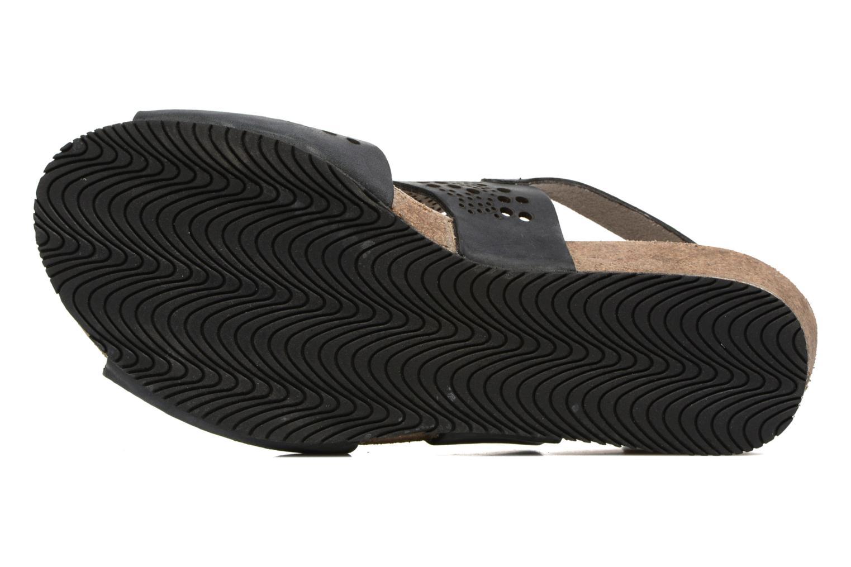 Sandales et nu-pieds TBS Koralie Noir vue haut