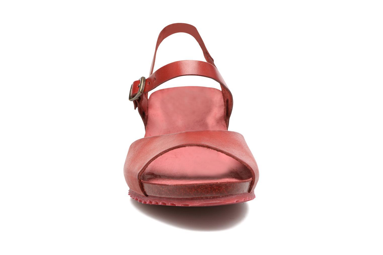 Sandales et nu-pieds TBS Samata Rouge vue portées chaussures