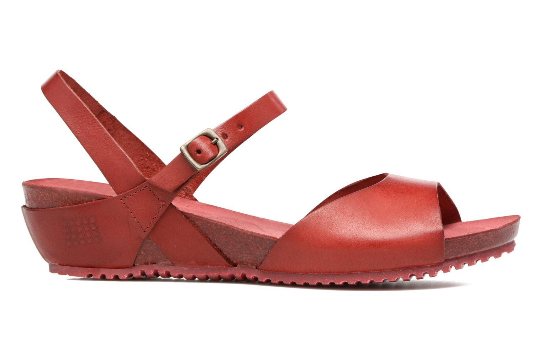 Sandales et nu-pieds TBS Samata Rouge vue derrière