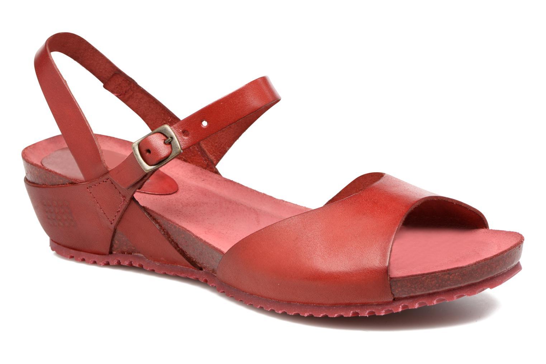 Sandales et nu-pieds TBS Samata Rouge vue détail/paire